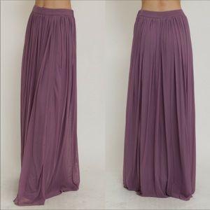 Gypsy, Bohemian Maxi skirt